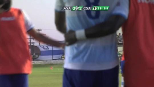"""Didira decide contra o ex-clube e leva o CSA à final: """"Eu estava precisando"""""""