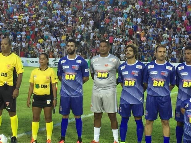 Gusttavo Lima faz jogo solidário com presença de Caio Castro (Foto: Divulgação/ Silvia Colmonero e Manuela Pimentel)