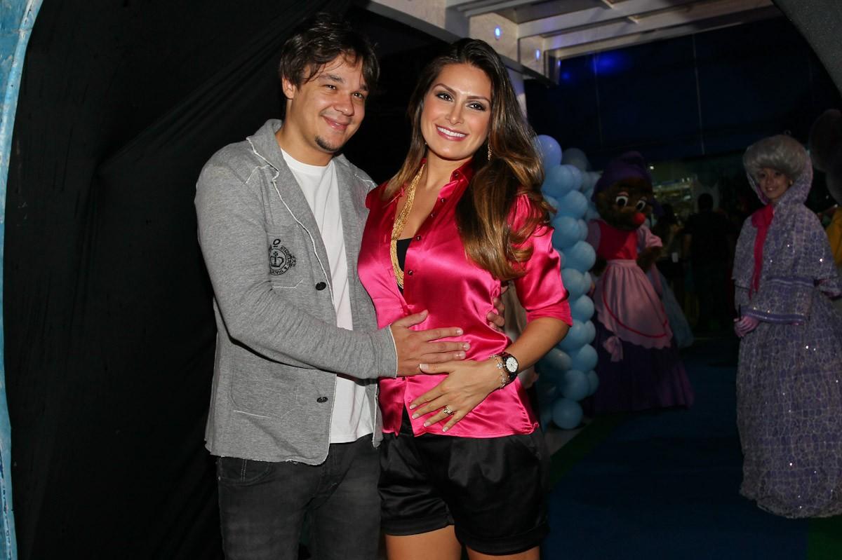 Leandro e Natália Guimarães (Foto: Manuela Scarpa/Foto Rio News)