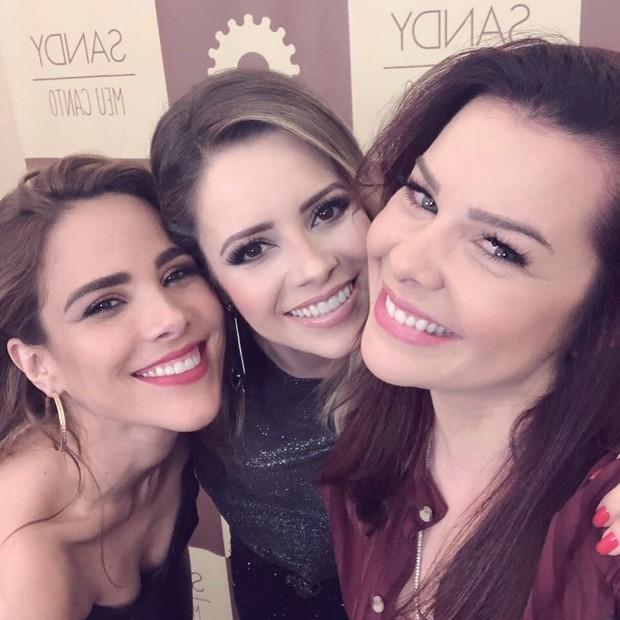 Wanessa Camargo, Fernanda Souza e Sandy (Foto: reprodução/instagram)