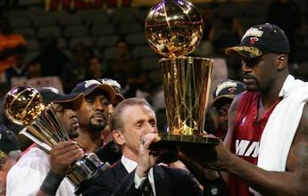 Miami Heat decide aposentar camisa 32 usada pelo pivô Shaquille O'Neal
