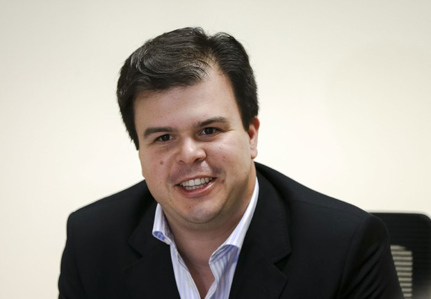 O ministro de Minas e Energia, Fernando Bezerra Filho, durante reunião de gabinete (Foto: Marcelo Camargo/Agência Brasil)