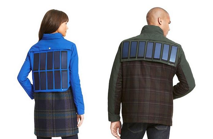 Jaqueta da Tommy Hilfiger com painel solar (Divulgação/Tommy Hilfiger)