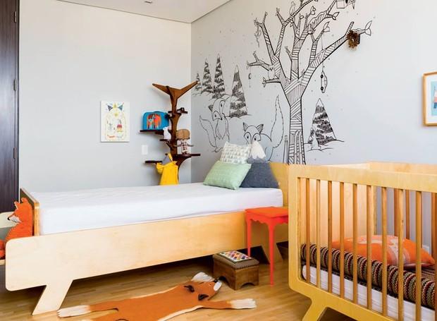 quarto-cama-berco-almofadas (Foto: Edu Castello/Editora Globo)
