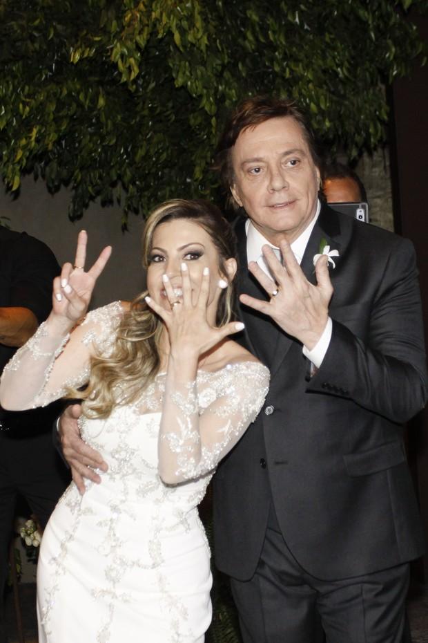 Maria Fernanda Pascucci e Fábio Jr. (Foto: Celso Tavares / EGO)