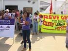 Mulheres protestam contra a violência e por melhores condições trabalhistas