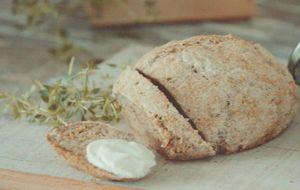Pão de quinoa vegano