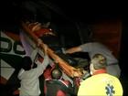 Acidente entre ônibus e caminhão deixa feridos em rodovia de Ourinhos