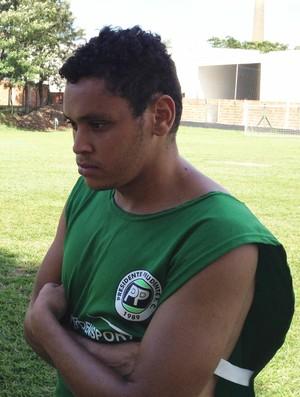 Marcelinho atacante do PPFC (Foto: Ronaldo Nascimento / Globoesporte.com)