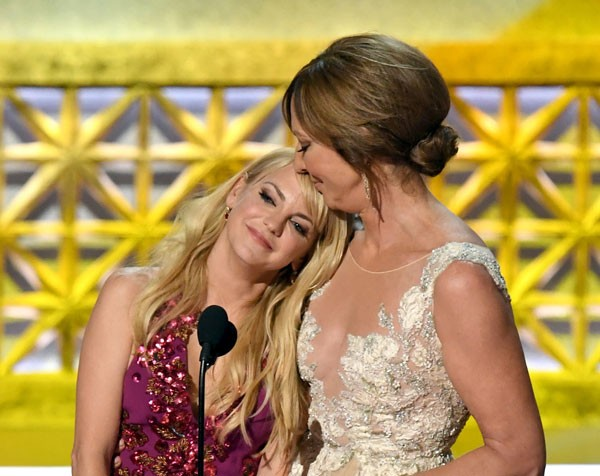 As atrizes Anna Farris e Allison Janney (Foto: Getty Images)