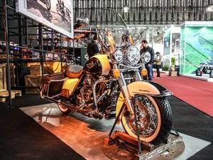 Harley-Davidson Road King Classic (Foto: Raul Zito/G1)