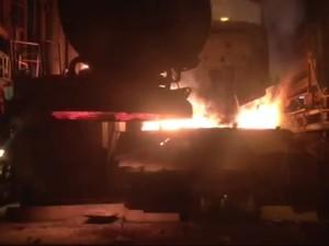 Incineração de drogas no RS  (Foto: Divulgação/Polícia Civil)