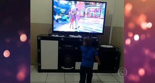 sua criança é fera na dança? (TV Globo)