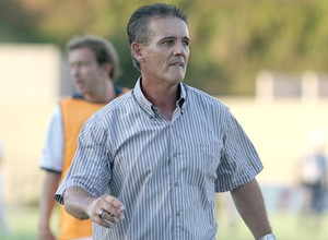 Técnico Paulo Roberto, técnico do São São Bento (Foto: Jesus Vicente / EC São Bento)