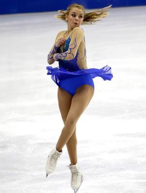 isadora williams patinação (Foto: AP)