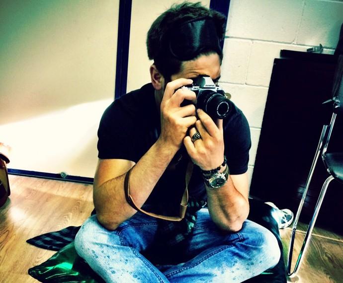 Daniel Rocha será o fotógrafo Rafael (Foto: Arquivo Pessoal)