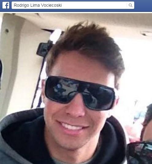 Rodrigo foi atingido por uma Kawasaki Ninja (Foto: Reprodução/Facebook)