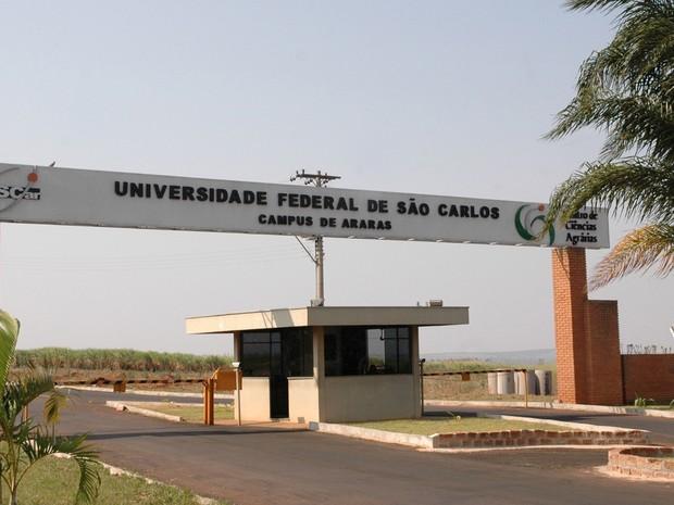 Campus da UFSCar em Araras (Foto: Divulgação/CCS UFSCar)