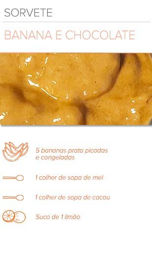 EuAtleta Arte Info Receita Sorvete Banana (Foto: Eu Atleta | Arte Info)