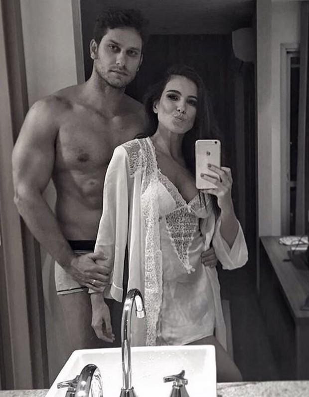Eliéser e Kamilla (Foto: Instagram / Reprodução)