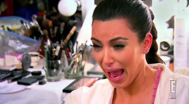 A meme Crying Kim também virou make! (Foto: Reprodução Instagram)