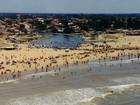 Homem morre afogado na Praia de Grussaí, em São João da Barra, RJ