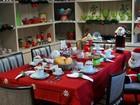 Casinha de Noel tem visitação grátis até véspera de Natal em Piracicaba