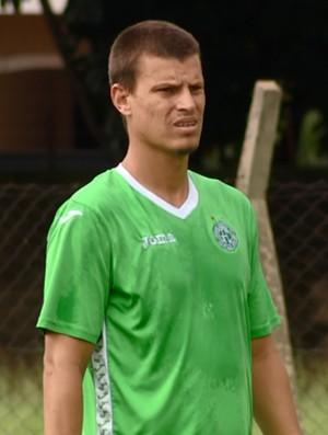 Diego Jussani zagueiro Guarani (Foto: Carlos Velardi / EPTV)