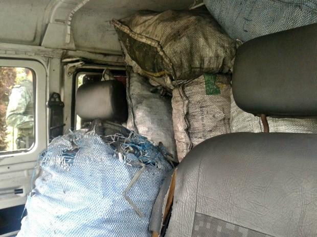 Material foi apreendido na AM-070 (Foto: Divulgação/ Batalhão Ambiental)