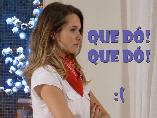 Tadinha da Fatinha? Num dá dó ver essa linda chorar? (Foto: Malhação / Tv Globo)