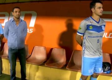 Rodrigo Calchi, Bruno Quadros, Marília, Paulistão (Foto: Reprodução / TV Globo)