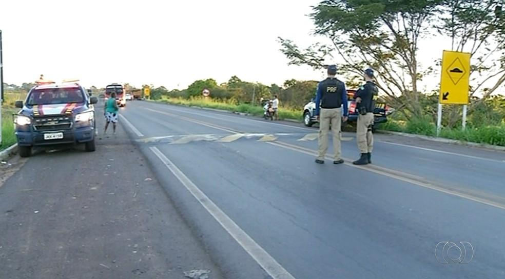 Operação de fiscalização intensa da PRF durou cinco dias (Foto: Reprodução/TV Anhanguera)
