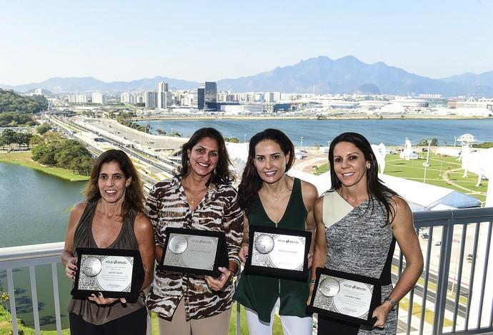 Medalhistas de Atlanta 1996 no vôlei de praia são homenageadas no Rio 5ed93d18081a3