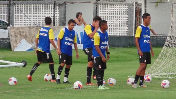 Treino ABC Neto Coruja (Foto: Carlos Arthur da Cruz/GloboEsporte.com)
