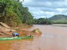 Pesca no Rio Doce está proibida por causa de contaminação de metais
