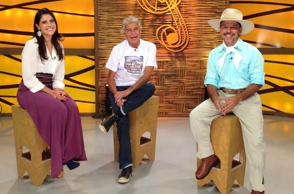 Shana Müller, Patineti e Neto Fagundes (Foto: Divulgação/RBS TV)
