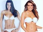 Solange Frazão compara foto antiga com atual e celebra boa forma aos 52