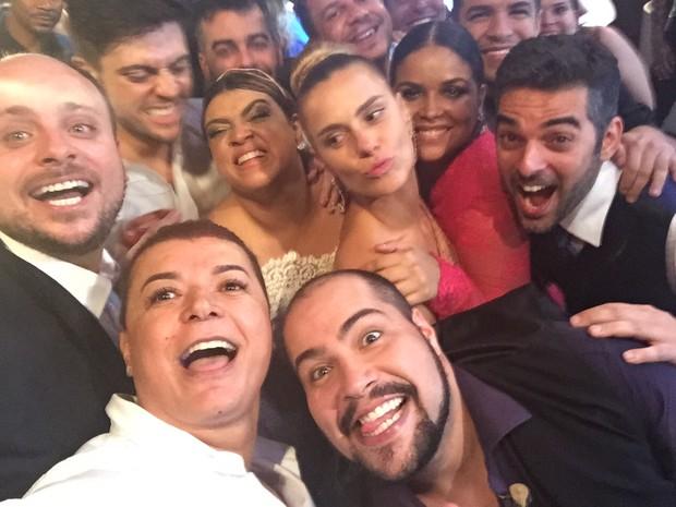 Famosos na festa de casamento de Preta Gil e Rodrigo Godoy em Santa Teresa, no Centro do Rio (Foto: EGO)