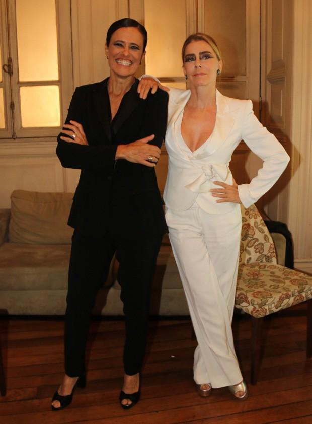 Maitê Proença e Zélia Duncan (Foto: Fabio Moreno/AgNews)