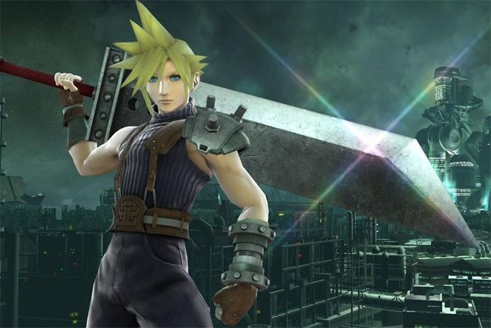 Cloud apareceu como uma surpresa em Super Smash Bros (Foto: Divulgação/Nintendo)