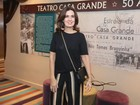 Fátima Bernardes e outros famosos prestigiam Marco Nanini no teatro