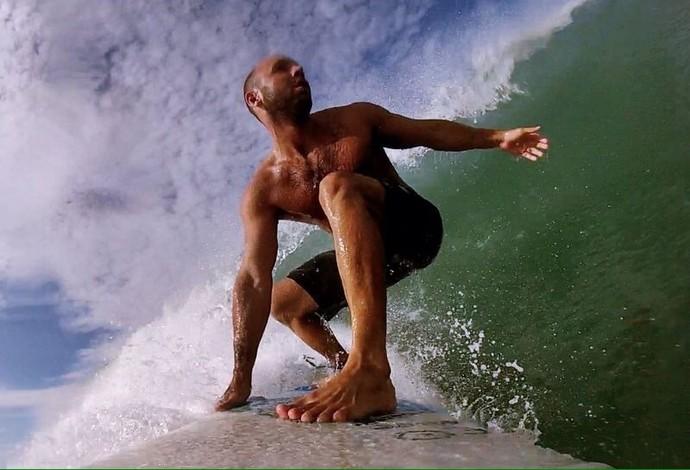 Felipe Perrone Polo aquático (Foto: Arquivo Pessoal)