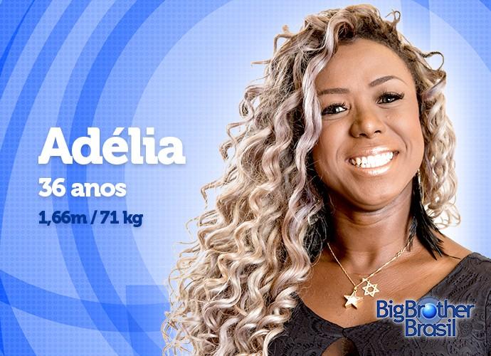 Adélia entra na casa com 71 kg. Será que a sister manterá o peso? (Foto: Daniel Chevraud/Gshow)