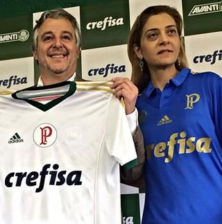 Palmeiras apresenta patrocínio da Crefisa (Foto: Divulgação)