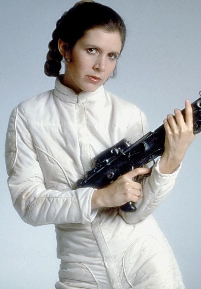 Carrie Fisher como Princesa Leia (Foto: Reprodução)