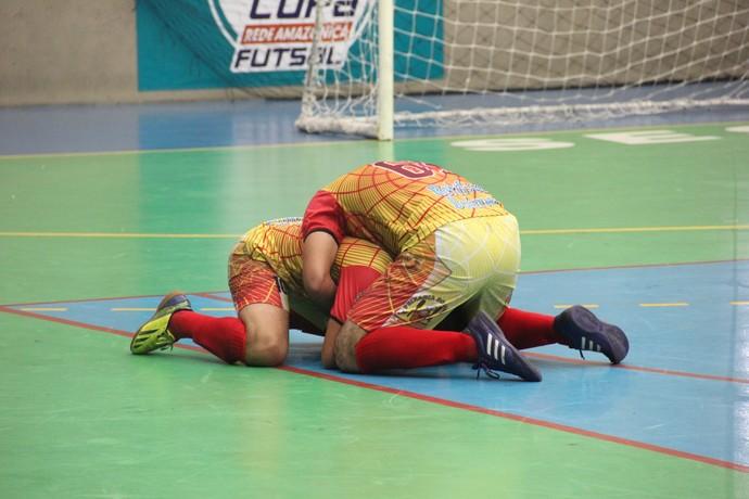 Semifinais masculinas Copa Rede Amazônica de Futsal (Foto: Diego Toledano/ G1 AM)