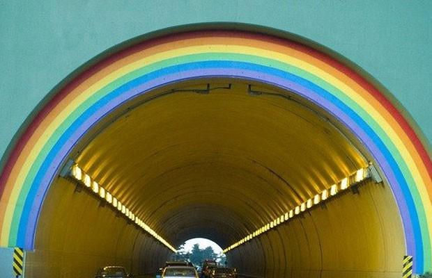 O túnel na Califórnia que receberá o nome de Robin Williams. (Foto: Divulgação/Change.org)