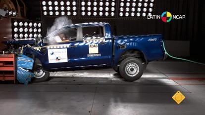 Ford Ranger consegue apenas 3 estrelas em teste de colisão