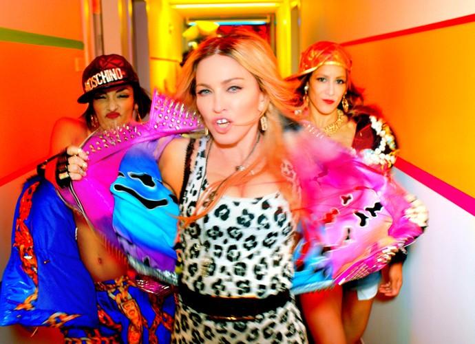 Bitch I'm Madonna é o clipe mais assistido de Madonna (Foto: Reprodução)