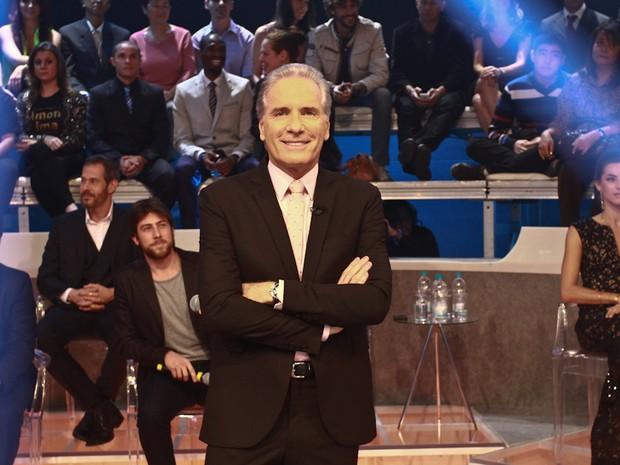 Roberto Justus em programa de televisão em São Paulo (Foto: Cláudio Augusto/ Foto Rio News)